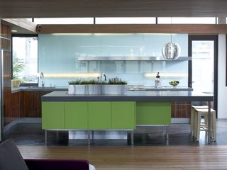 San Francisco estate photo - kitchen - very modern. Has all the amenities of great place to cook and hang