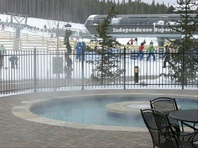 Breckenridge, Crystal Peak,Ski in/out-Lift number two 'Independence superchair'