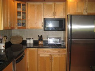 East Sandwich house photo - Kitchen - Large Refrigerator & Microwave