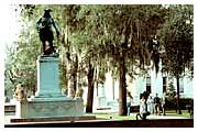Savannah apartment photo - Chippewa Square - Monument of Oglethorpe