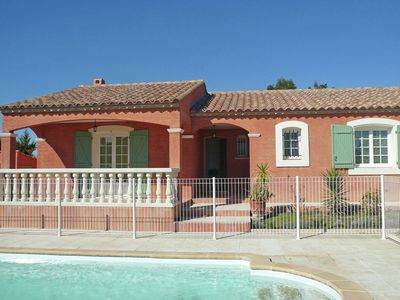 A pleasant holiday home with a swimming pool in a quiet location thirty kilometres from the first white sandy beaches.