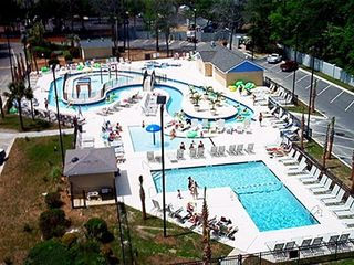 Myrtle Beach Resort condo photo - Lazy River Complex -Seconds from our Condo