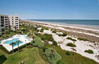 Amelia Island condo photo - Rare unit with an unlimited view in both directions of the beach