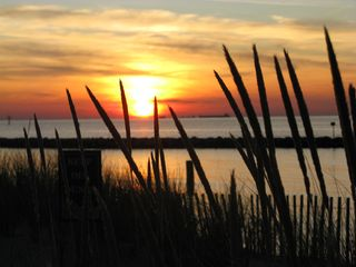Cape Charles house photo - Sunset of the Chesapeake bay.....Beautiful!!!!