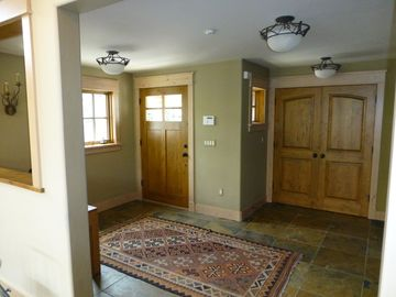 Entry Area and Coat Closet