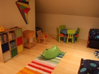 Brewster house photo - Kids' play area in one of the twin bedrooms. Will keep them busy for hours!