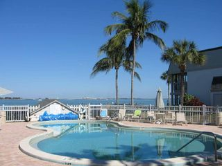Sanibel Island condo photo - Swimming Pool right on the Bay