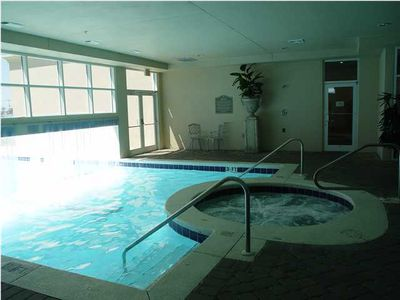 Indoor/Outdoor Heated Pool and Jaccuzi