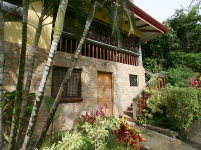 three bedroom, 3 bath villa nestled in the jungle