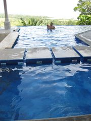 Playa Hermosa estate photo - Kiddie Pool with Hand Painted Tiles of Local Wildlife