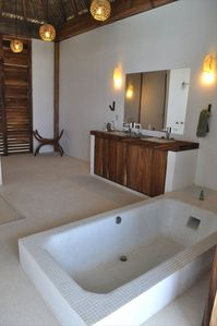 Each bed room include a fully functional luxury bathroom