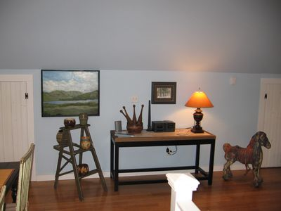 Kingston house rental - all art by local artists