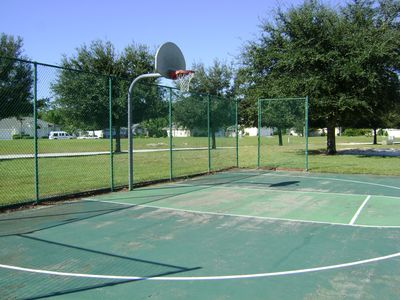 Bridgewater Crossing villa rental - Basketball practice court