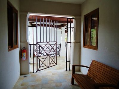 Entrance - The Entrance is gated.