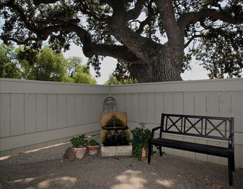 Santa Ynez house rental - Serene Fountain Entry to The Country Ranch House