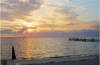 Tampa townhome photo - 250 foot fishing pier at the community