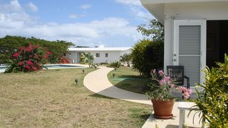 Vieques Island property rental photo - From the Main House to the Guest House