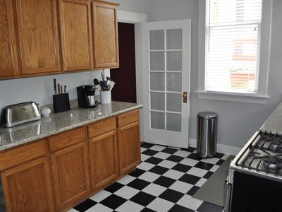 Newly renovated (July 2012) kitchen with stainless steel Bosch appliances