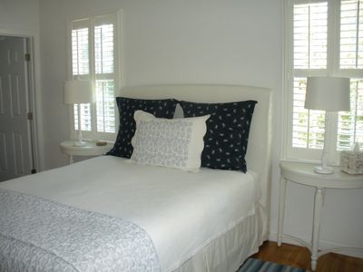 Orleans house rental - Master bedroom suite with its own flat screen tv!
