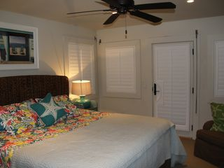 New Smyrna Beach house photo - Main Floor Bedroom - King