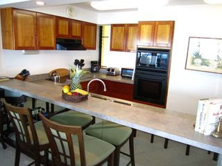 Princeville condo photo - Sit at the counter for light meals or beverages.