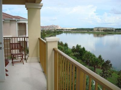 Lakeview balcony.