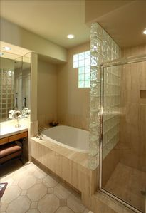 Portion of the Master Bathroom