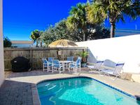Beautiful Beach House with Private Heated Pool, 1 Blk to the Beach