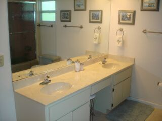 Naples Beach Club house photo - .Master bath