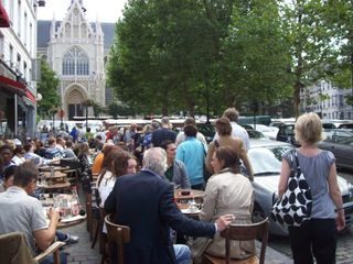 Brussels apartment photo - Restaurants & cafe's at Grand Sablon