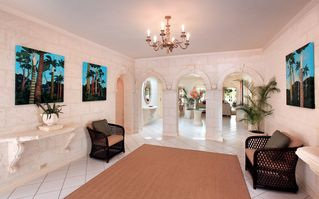 Sandy Lane villa photo - Main entrance/foyer at Vistamar villa welcomes guests
