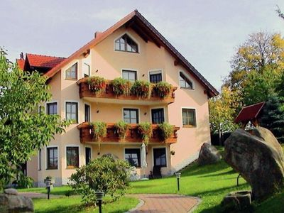 A three-person, ground floor holiday accommodation near the Czech Republic.