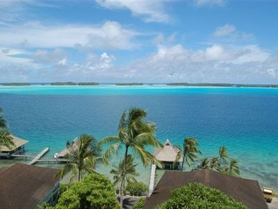 EXCLUSIVE LAGOON VIEW FROM VILLA VAHIMANUI