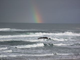 Lincoln City house photo - Waves and Rainbows