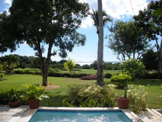 La Romana villa photo - A view to the first Tee and Caribbean