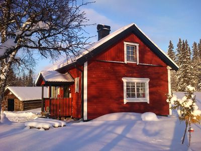 Enjoy hiking & skiing on fells/slopes. Cabin/Sauna on 700 m.a.s.l. Close to Idre