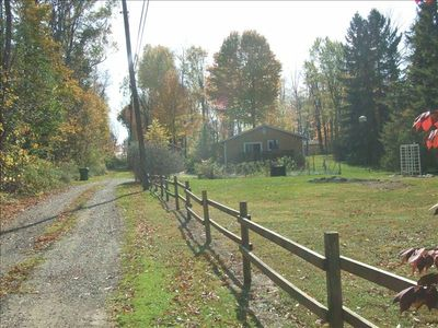Private 1/2 acre property, Gorgeous foliage in season, Peaceful!