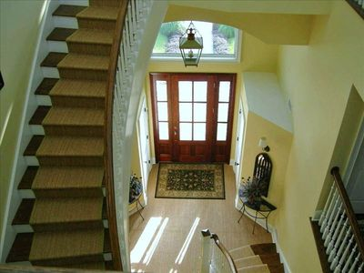 Foyer and Stairwell