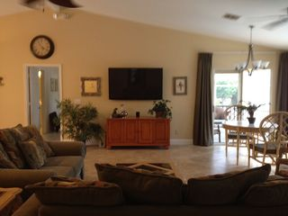 "Vacation Homes in Marco Island house photo - 60"" Plasma High Definition TV"