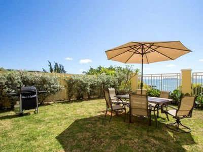 Amazing Garden Villa.  Your private patio with gas grill and the view!