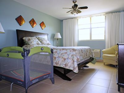 Aguadilla vacation rentals condo rentals homeaway Master bedroom with a crib