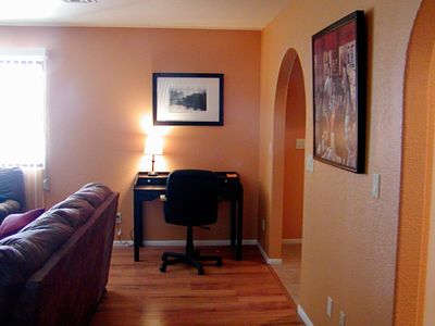 Lake Havasu City house rental - Desk Area in Greatroom