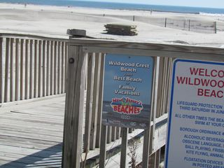 Wildwood Crest condo photo - Walk Way to beach 2