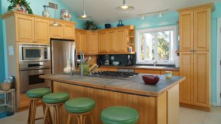 Great Exuma house photo - A fully equipped kitchen, convection oven, Micro wave, a chefs delight.