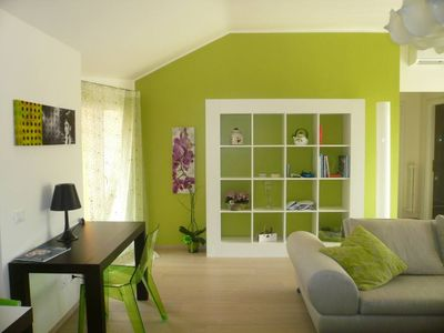 Brescia: modern penthouse, 5 floor-75sqm, in the city center, near the old town