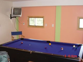 Duck house photo - Recreation room with combo pool/ping pong table,