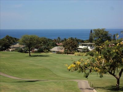 Ocean and Golf Course View from lanai