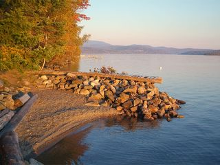 Rangeley Lake cabin photo - Swimming area, boat launch