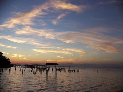 Gulf Shores cottage rental - Incredibly beautiful sunsets look different every day.