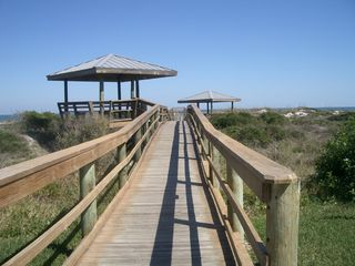 St. Augustine Beach condo photo - Boardwalk to Beautiful St. Augustine Beach